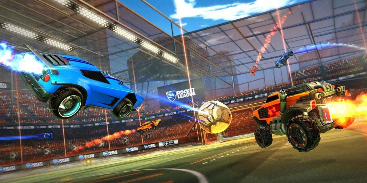 Rocket League is adulatory Halloween with the attainable