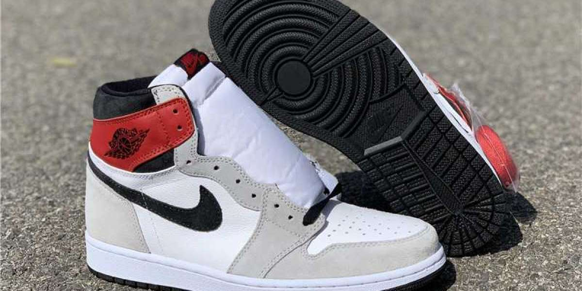 "Buying Cheap Newest Air Jordan 1 Retro High OG ""Light Smoke Grey"" 2020"