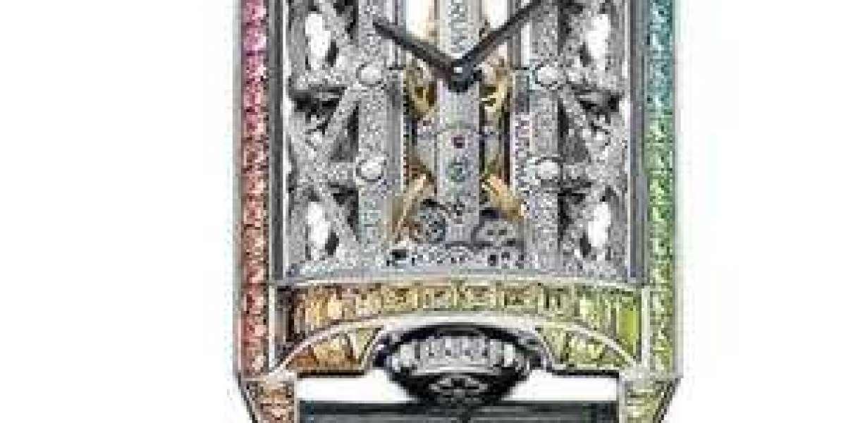 Richard Mille Replica Watch RM 07-01 Gold Bracelet