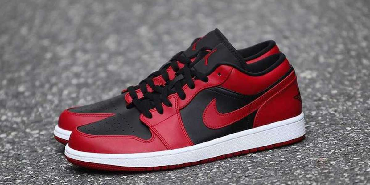 """New 2020 Air Jordan 1 Low """"Varsity Red"""" Will Be Released This summer"""